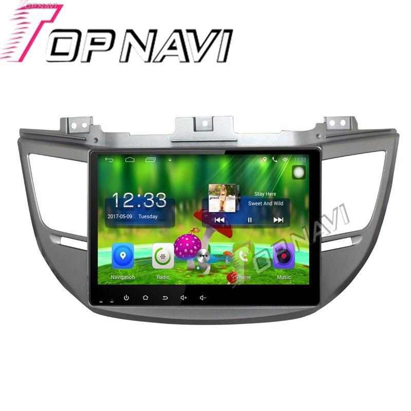Topnavi 10 1 Quad Core Android 6 0 Car font b GPS b font Navigation For