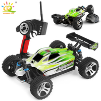1:18 70KM/H 4WD WL A959 A959 B RC Racing Car 2.4G Radio Remote Control Truck Buggy Highspeed Off Road drift Car toy for children