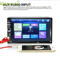New Arrival 7 In 2Din Car Stereo MP5 Player Touch Screen FM Radio USB SD Bluetooth+ camera jy11