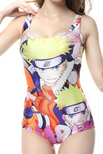 Naruto Women Beach Wear Digital Printing Swimwear