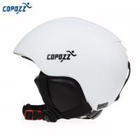 COPOZZ Ski Helmet Integrally Molded Snowboard Helmet Men Women Warm Protective Skating Skateboard Skiing Helmet