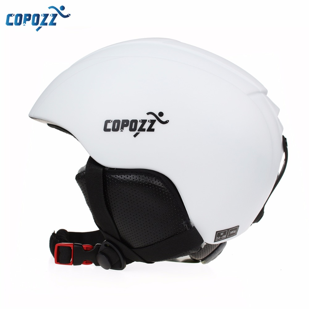 COPOZZ Ski Helmet Men Women Warm Protective Sports Skating Skateboard Skiing  Integrally-molded Snowboard Helmet Cover free shipping new brand ski helmet with abs shell snowboard protection snowboardig skiing helmet with mirror for men women