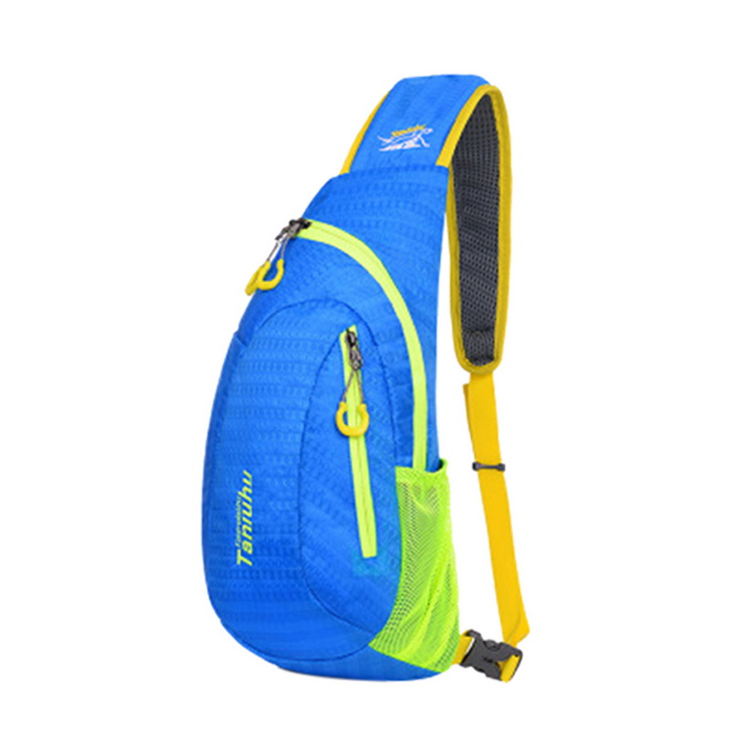 WENYUJH Chest Bag for Women Men Sport Waterproof Outdoor Travel Package Shoulder Rucksack Cycling Sports Bag
