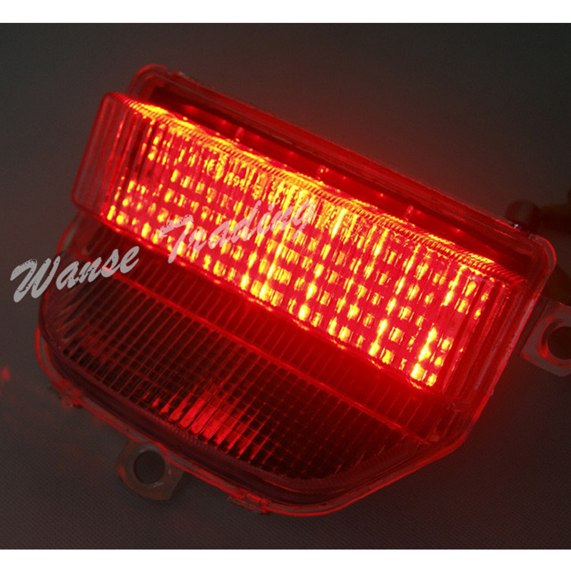 Led Tail Light Clear Lens Integrated Turn Signals for HONDA 1993-1997 CBR900RR