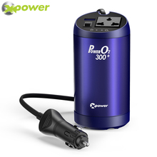 XP 250W Car power inverter 12v 220v 50Hz Auto 12 220 Modified Sine Wave Voltage Converters inverters with Air Purifier USB QC3.0