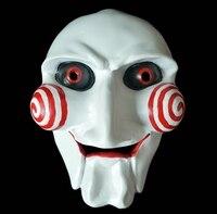 Five baby for Halloween mask face mask Fu terror saw mask mask killer doll