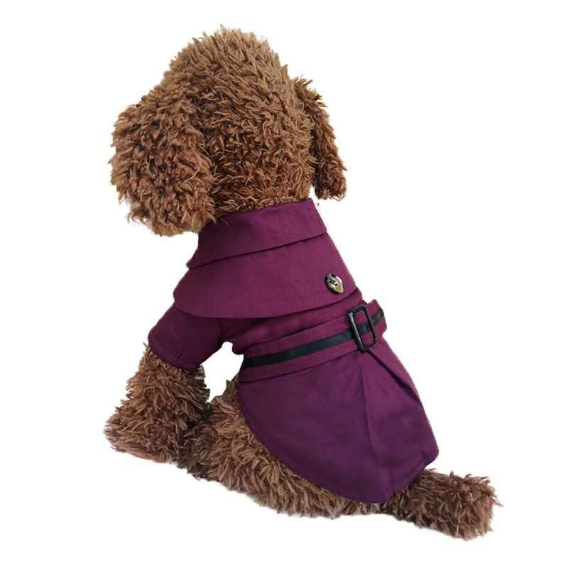 2018 Waterproof  Dog Jacket Designer Warm Solid Winter Dog Coats Pet Clothes Dog Clothes Winter