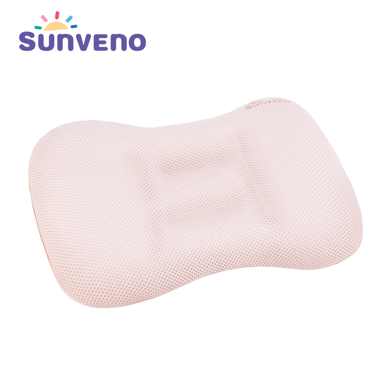 SUNVENO Baby Pillow Newborn Pillow Baby Positioner Infant Prevent Flat Comfortable Scientific Baby Room Decor Pillow 2-7 year deluxe edition of the baby child health pillow space memory pillow