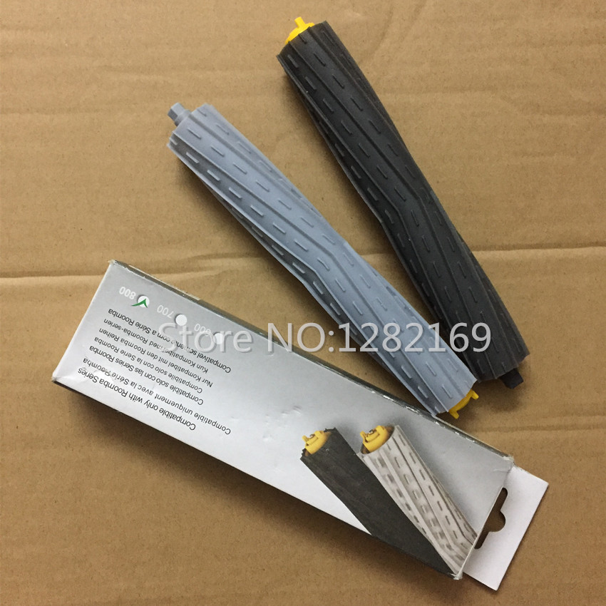 2 pcs/lot Robot Vacuum Cleaner Parts Tangle-Free Debris Extractor Brush replacement for irobot roomba 800 Series 880 870 871 980 14pcs lot tangle free debris extractor replacement kit for irobot roomba 800 900 series 870 880 980 vacuum robots accessory pa