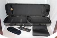 4/4 Oblong High quality pattern Composite Carbon Fiber violin case new style as picture in details Description