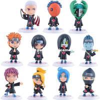 Japanese Anime Figures Naruto Q Edition Akatsuki Members Doll Child Toys Action Figure Naruto
