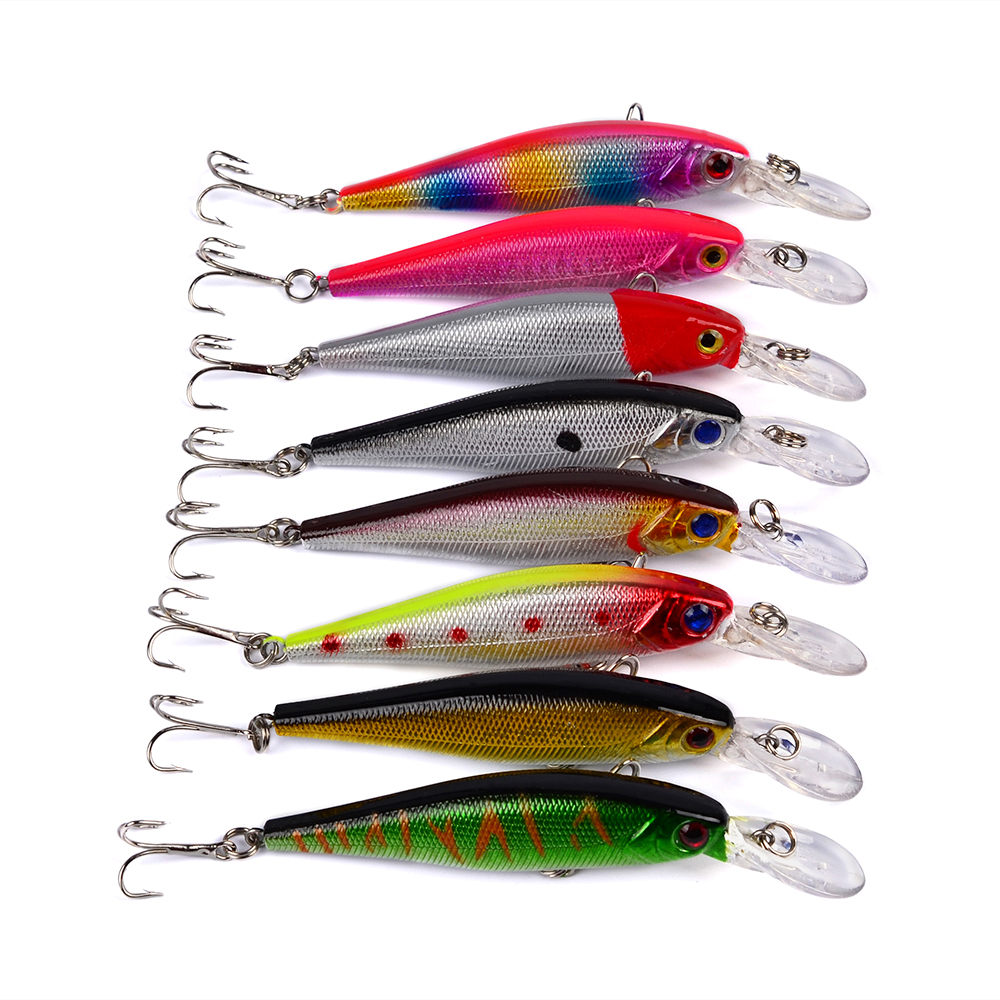 Minnow 3D eye 10.1cm bait Mino bait speed 9.36g fishing gear shop must Lures crank pesca ...