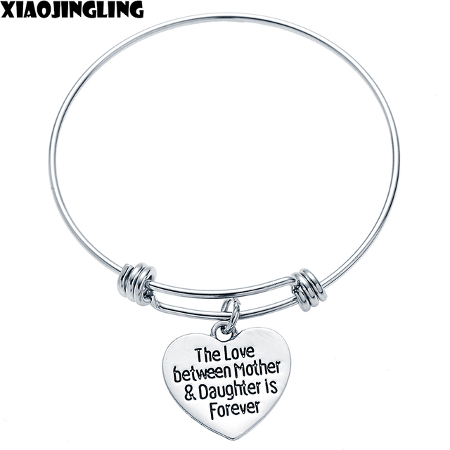 Xiaojingling Bracelets Mothers Day The Love Between Mother Daughter Is Forever 2017