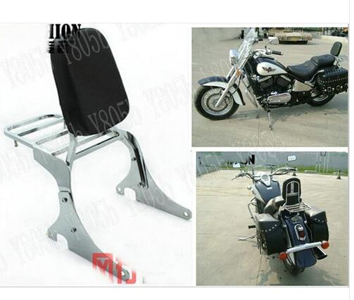 motorcycle backrest sissy bar luggage rack for kawasaki