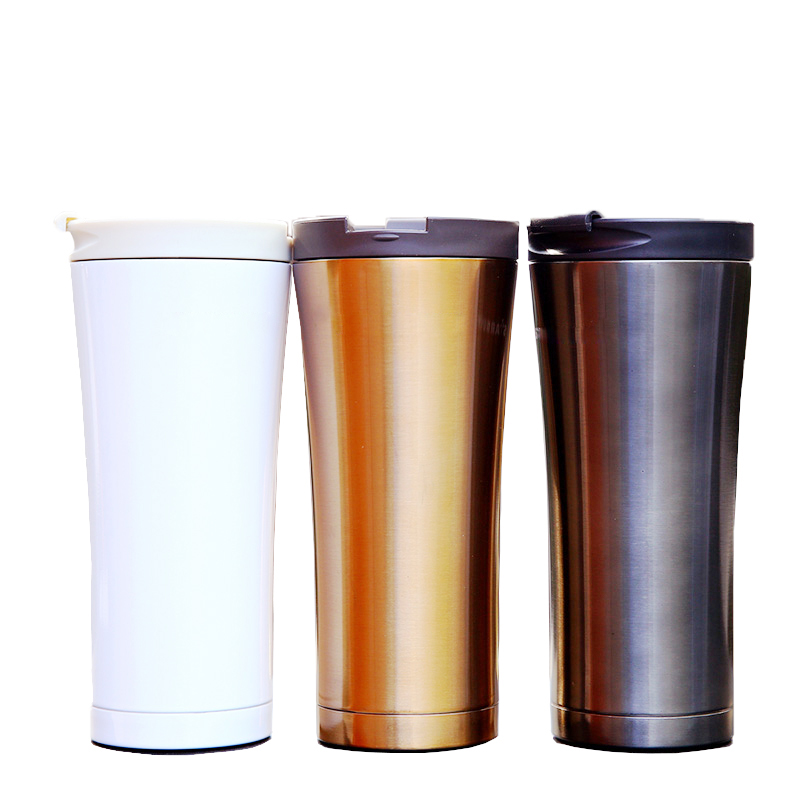 500ml Thermos Cup Stainless Steel Thermos Vacuum Mug Coffee Cup Travel Coffee Mug Car Cup Thermal