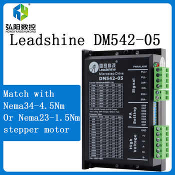 Leadshine 2 Phase Stepper Driver DM542 20-50VAC 1.0-4.2A for NMEA23 stepper motor - SALE ITEM Tools