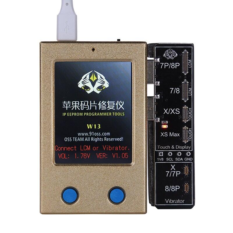 ЖК-дисплей Экран EEPROM программист светочувствительная ремонт iPhone 8/8 P/X/XS MAX Вибрация товара чтение и запись для iPhone 7/7 P/8/8 P/X