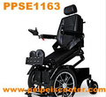 Best quality luxury foldable standing electric wheelchair with brush motor (PPSE1163)