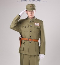 hot deal buy the chinese people's liberation army pla 56 style uniform featured film and television military outfit volunteer korean war show
