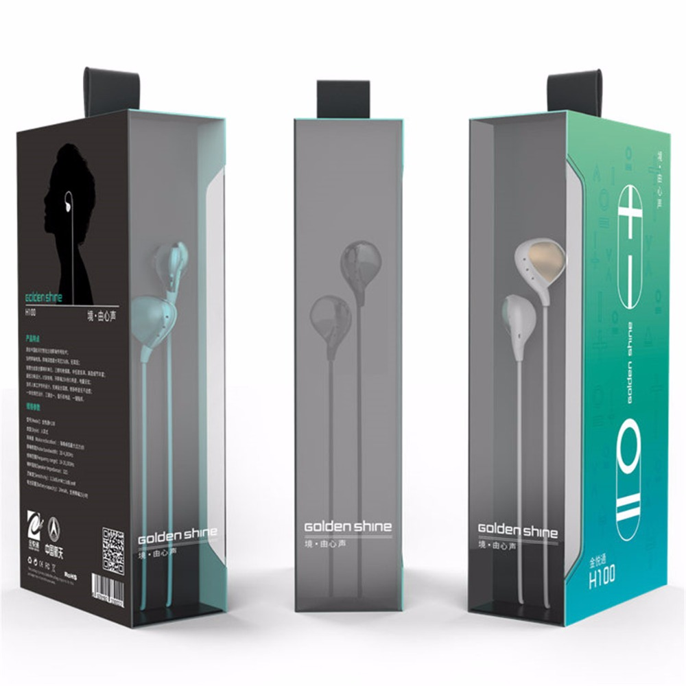 ФОТО New Professional In-Ear Earphone Hifi Sport Earphones Running Wired Active Noise Cancelling HiFi Music Earphone In stock!