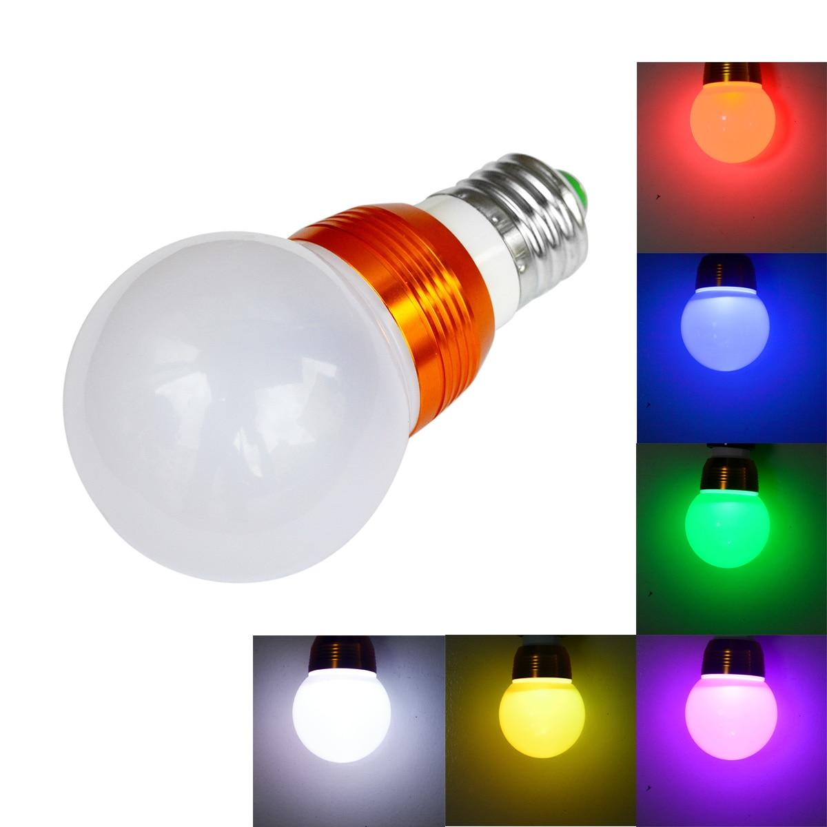 Jiawen 3W  E27 RGB LED Bulb 16 Color Change Lamp spotlight 85-265V for Home Party decoration with IR Remote электрический камин к к alex bauman bellagio a 29 фронтальный дуб средний к42 с в ab 02 29 wm067к42 839280