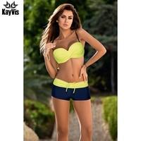 KayVis Sexy Bikini Women Swimsuit 2017 Summer Fashion Bathing Suit Leather Straps Brazilian Bikini Set Female