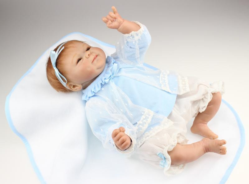 Npkdoll livraison gratuite 42 cm reborn réel à la recherche doux super réaliste toucher reborn poupées fashionfrozen poupée cadeau de noël - 4