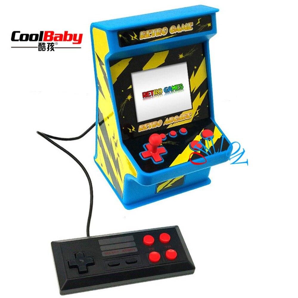 Klassische Retro Mini Arcade Nostalgischen Kinder Spiel Maschine Eingebaute 256-in-one-doppel Spiel Arcade NüTzlich FüR äTherisches Medulla Unterhaltungselektronik Portable Spielkonsolen