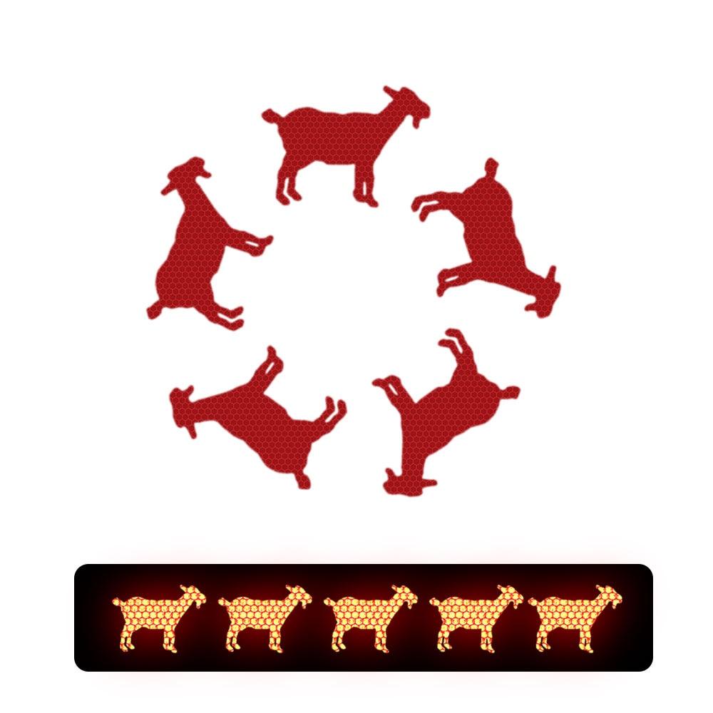 I LOVE chèvres-autocollant sticker décalque 6cm