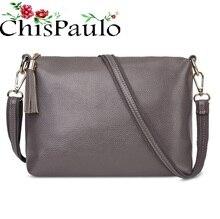 CHISPAULO женская сумка 2017 Брендовая Дизайнерская обувь Сумки Высокое качество модные Сумки из кожи для Для женщин Crossbody сумка X59