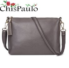 CHISPAULO Woman Bag 2019 Brand Designer Handbags High Quality Fashion Genuine Leather Bags For Women Messenger Crossbody Bag X59(China)