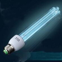 E27 30W UV quartz bactericidal lamp disinfection ozone sterilizer light home kill mite sterilization ultraviolet tube lamps