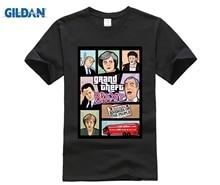 Grand Theft Auto 3D Men T Shirt GTA 5 T-shirt funny video game Tee shirt men Brexit Britain Merkel Trump tshirt