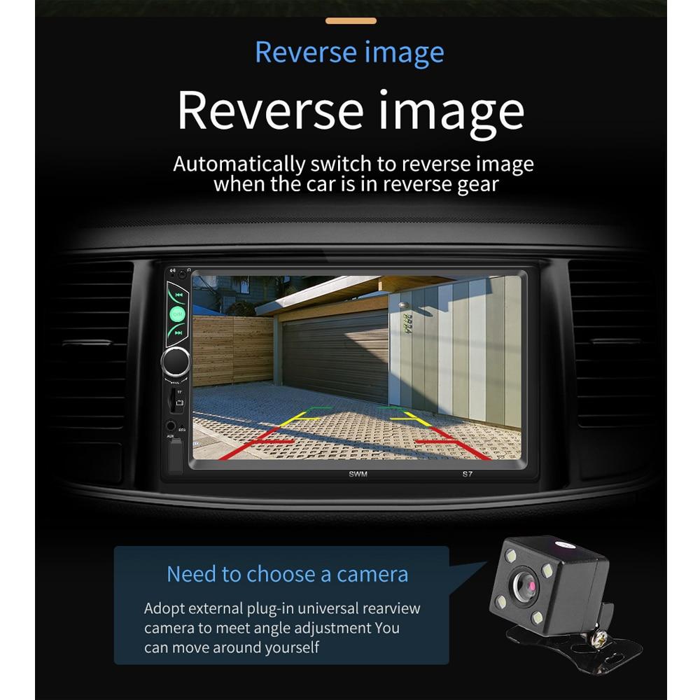 Câmera de Visão Usb fm Radio Receiver Traseira