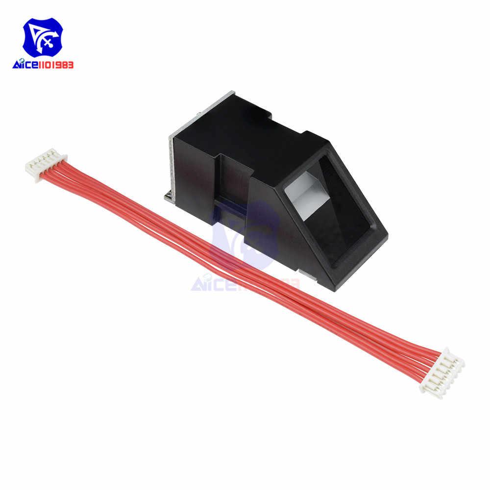 FPM10A lecteur d'empreintes digitales Module de capteur d'empreintes digitales optique pour Arduino verrouille le Module d'empreintes digitales d'interface de Communication série