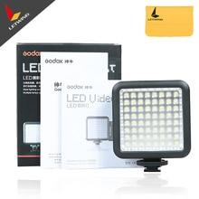 2PCS Godox LED 64 photo camera lights Video Lamp LED64 Lights For Nikon Canon Sony Digital Camera Camcorder DV