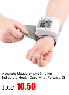 Gustala Automatic Digital Sphygmomanometer Wrist Cuff Arm Blood Pressure Monitor Meter Gauge Measure Portable Bracelet Device 11