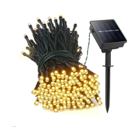 22M 200 LED Solar Led String Lights Garland Christmas Solar Lamps For Wedding Garden Party Decoration
