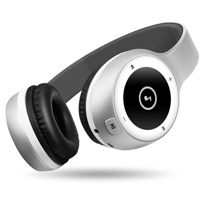 HL Stereo Bluetooth Headphones Wireless Headset Foldable Gaming Headset earphone V4.0 with Mic for Pc Mac SmartPhones oct13