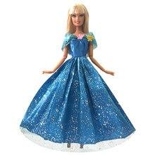 NK Satu Set Boneka Putri Gaun Terjemahan Dongeng Cinderella Pernikahan Gaun  Gaun Pesta Pakaian untuk Boneka Barbie Terbaik Anak . 866be14bbf