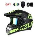 Nuevo casco off-road Mountain bike downhill mountain casco DOT casco de la motocicleta ATV 3 regalo Adecuado para el cabrito DOT