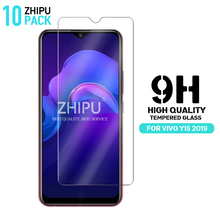 10 Pcs Tempered Glass For VIVO Y15 2019 Screen Protector 2.5D 9H Premium Protective Film