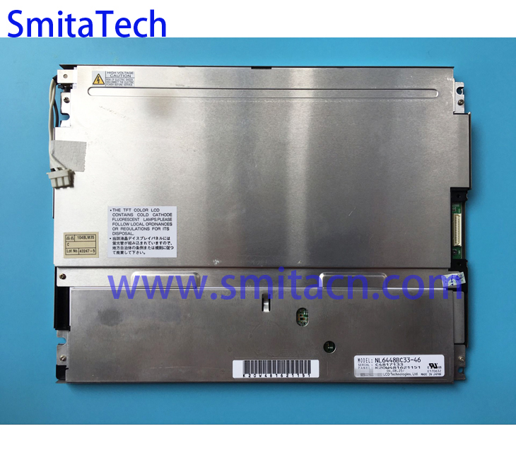 цена на 10.4 inch 640*480 TFT LCD Display NL6448BC33-46 industrial screen Panel