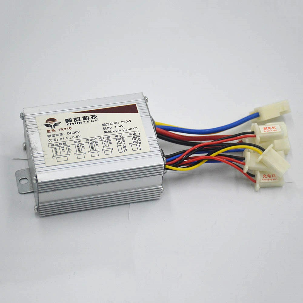 48V 36V 24V <font><b>250W</b></font> 350W 500W bike motor brushed controller box for <font><b>electric</b></font> bike <font><b>scooter</b></font> e-bike <font><b>electric</b></font> bicycle ebike image