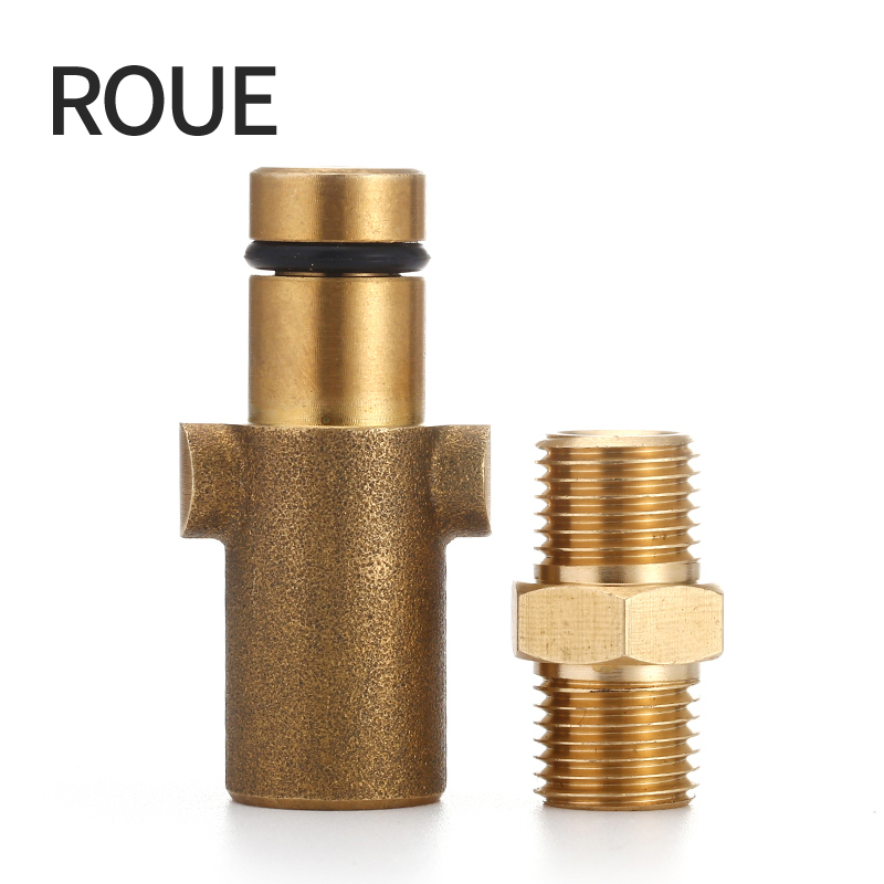 ROUE Adapter For Nozzle Foam Generator Gun Soap Foamer For Stihle Nilfisk High Quality Pressure Washer roue gs high quality pressure washer adapter for nozzle foam generator gun soap foamer for nilfisk kew alto
