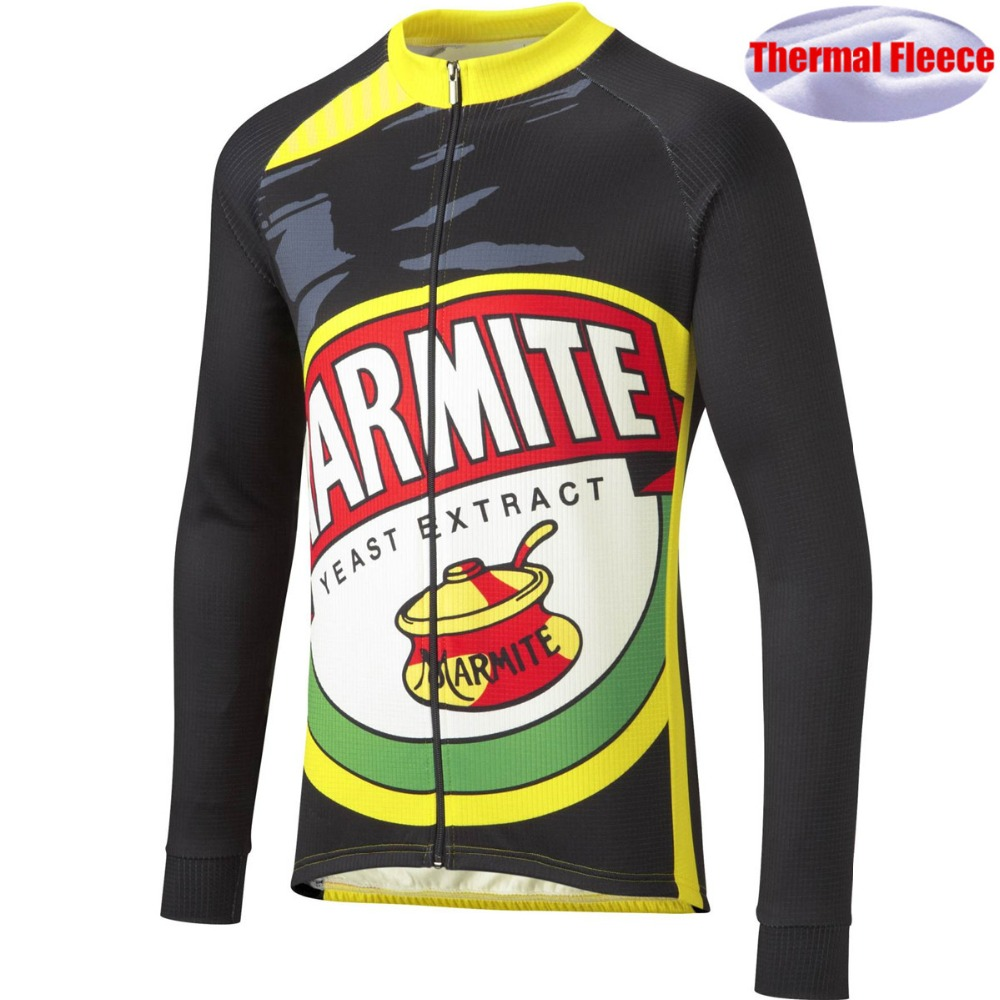 Cycling Clothing Jersey Bike-Jacket Long-Sleeve Fleece Ciclismo Mountain Outdoor Maillot-Ropa