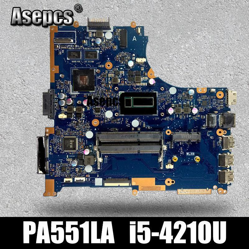 Asepcs PU551LD Laptop motherboard for ASUS PU551LA PU551LD PU551L PRO551L Test original mainboard I5-4210UAsepcs PU551LD Laptop motherboard for ASUS PU551LA PU551LD PU551L PRO551L Test original mainboard I5-4210U