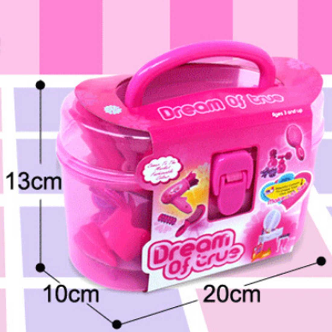 Surwish Аксессуары для девочек, игрушечный Макияж для ролевых игр, эмультационное платье, набор игрушек для макияжа, обучающая игрушка, подарок для девочек