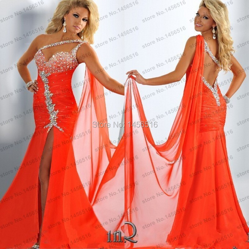 Online Get Cheap Orange Prom Dresses -Aliexpress.com | Alibaba Group