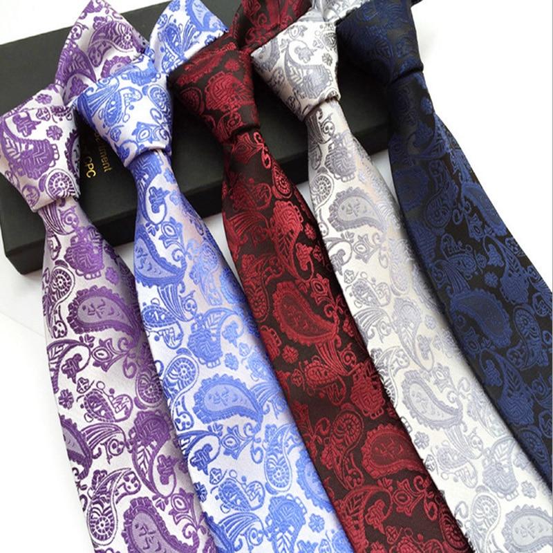 Factory Seller Men's Classic Vintage Tie 100% Silk 8cm